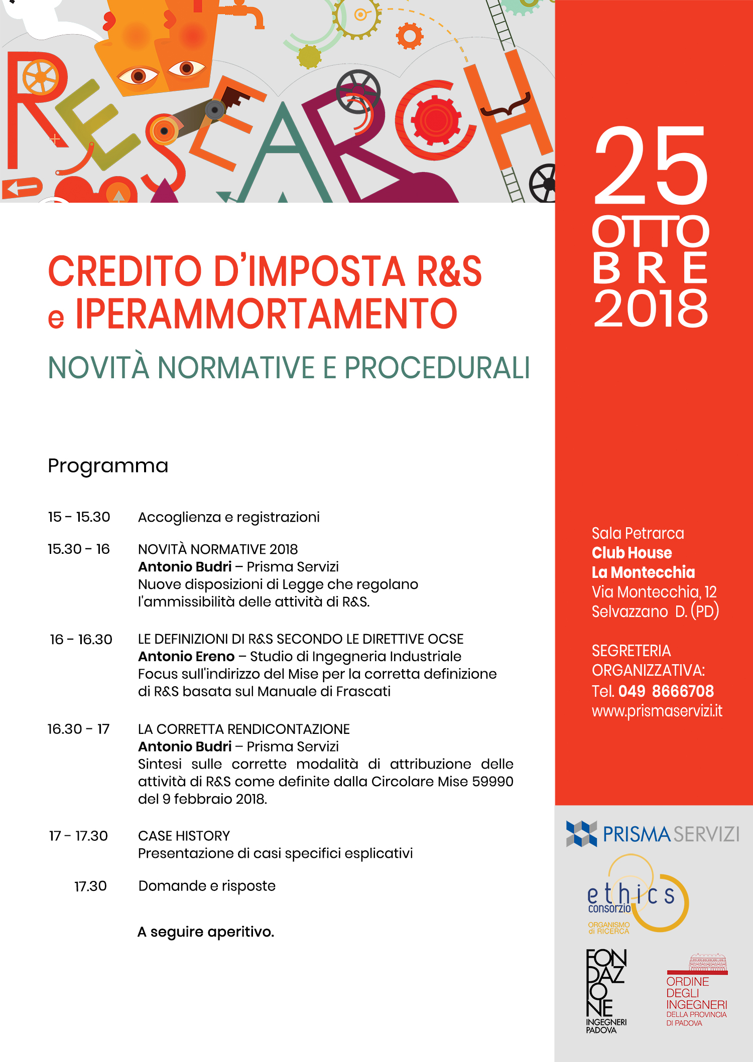 Evento: Bonus Ricerca & Sviluppo