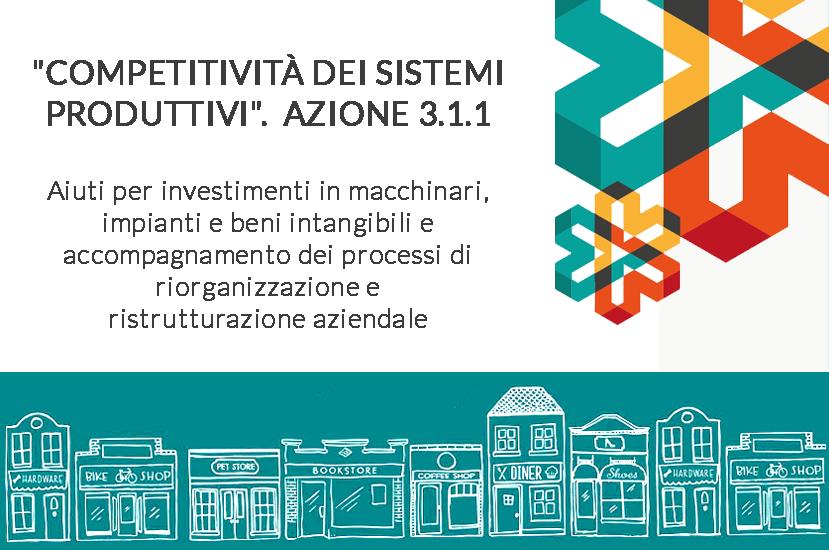 POR - FESR 2014-2020 Azione 3.1.1 Settore Commercio