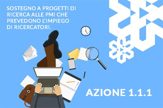 POR - FESR 2014-2020 REGIONE VENETO - Azione 1.1.1