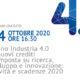 Webinar Piano industria 4.0 e nuovi crediti d'imposta su ricerca, sviluppo e innovazione novità e scadenze 2020