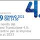 Webinar gratuito Le novità del Piano Transizione 4.0 - incentivi per le imprese fino al 2023